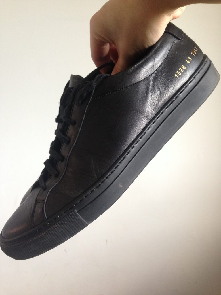 black common projects achilles low