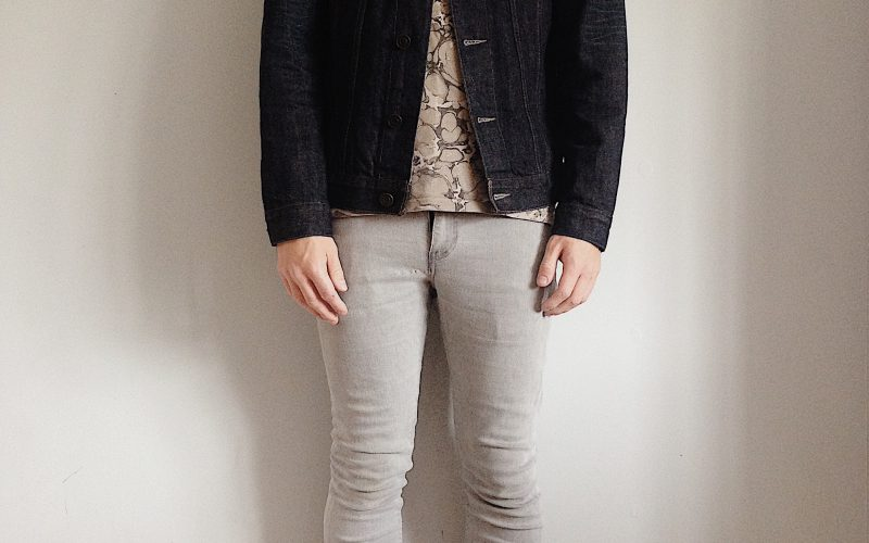 rinse denim jacket fit