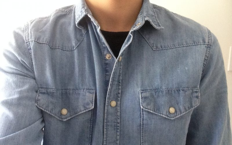 denim shirt - western