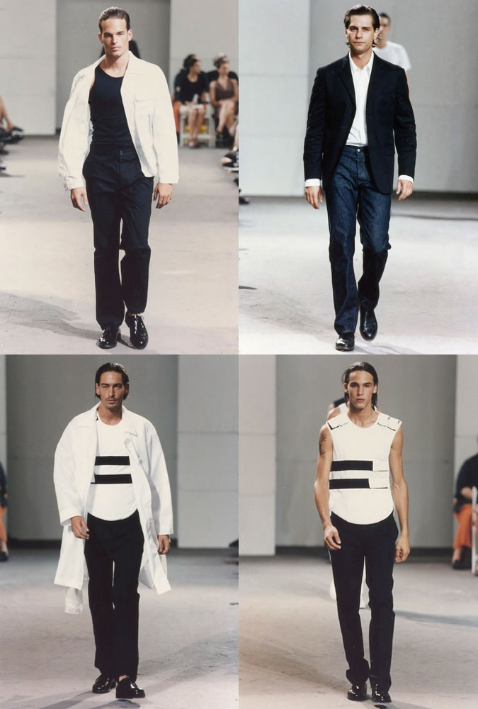 helmut lang SS98 fashionbeans outfit challenge fashion week