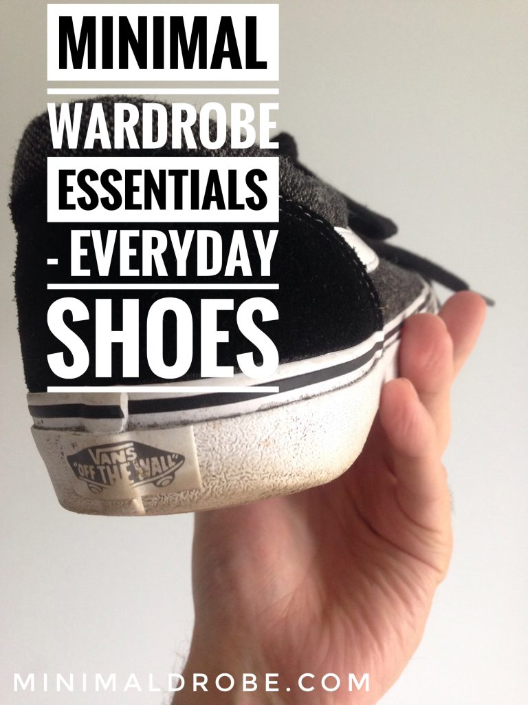 Minimal wardrobe essentials - everyday shoes