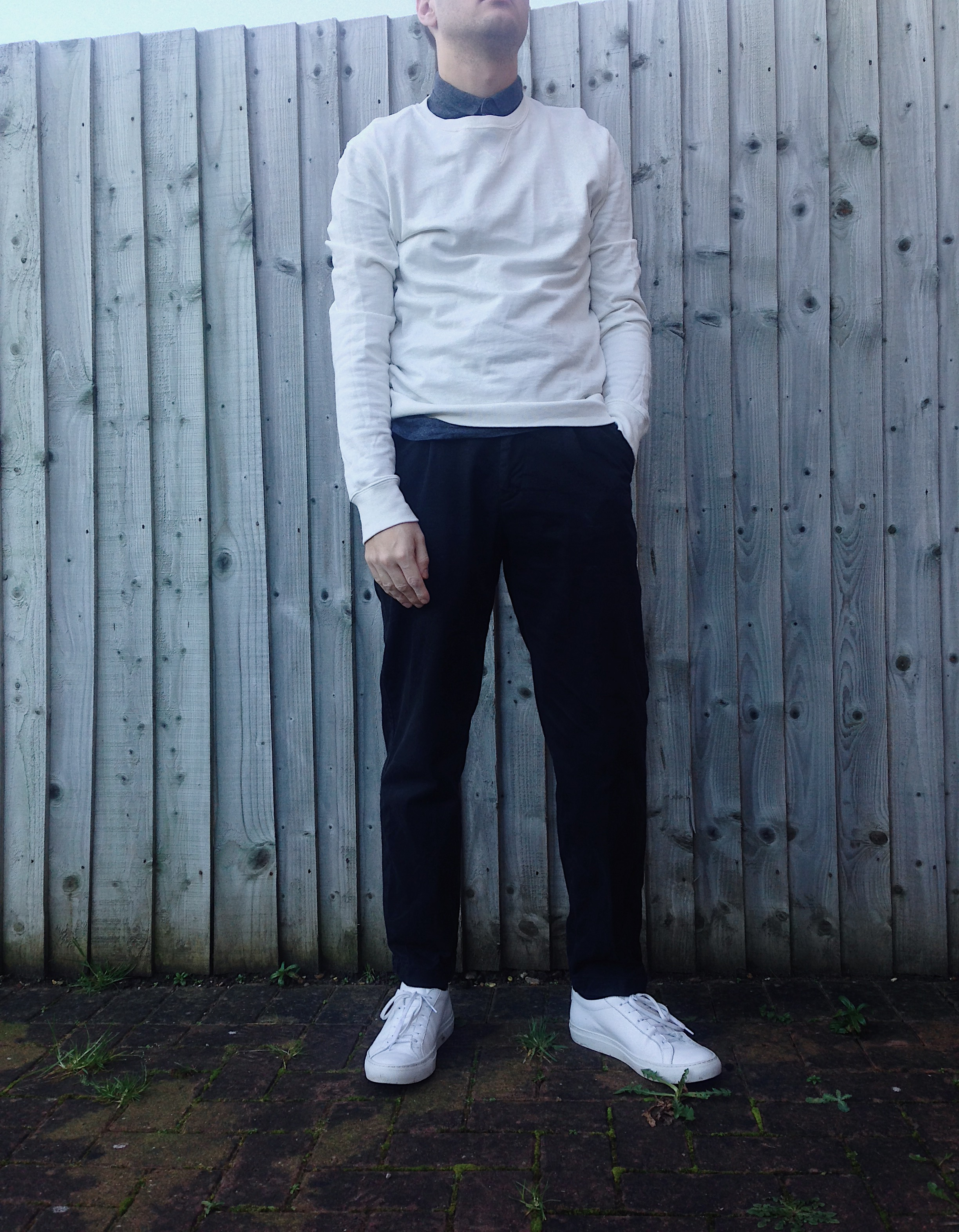 outfit with trousers